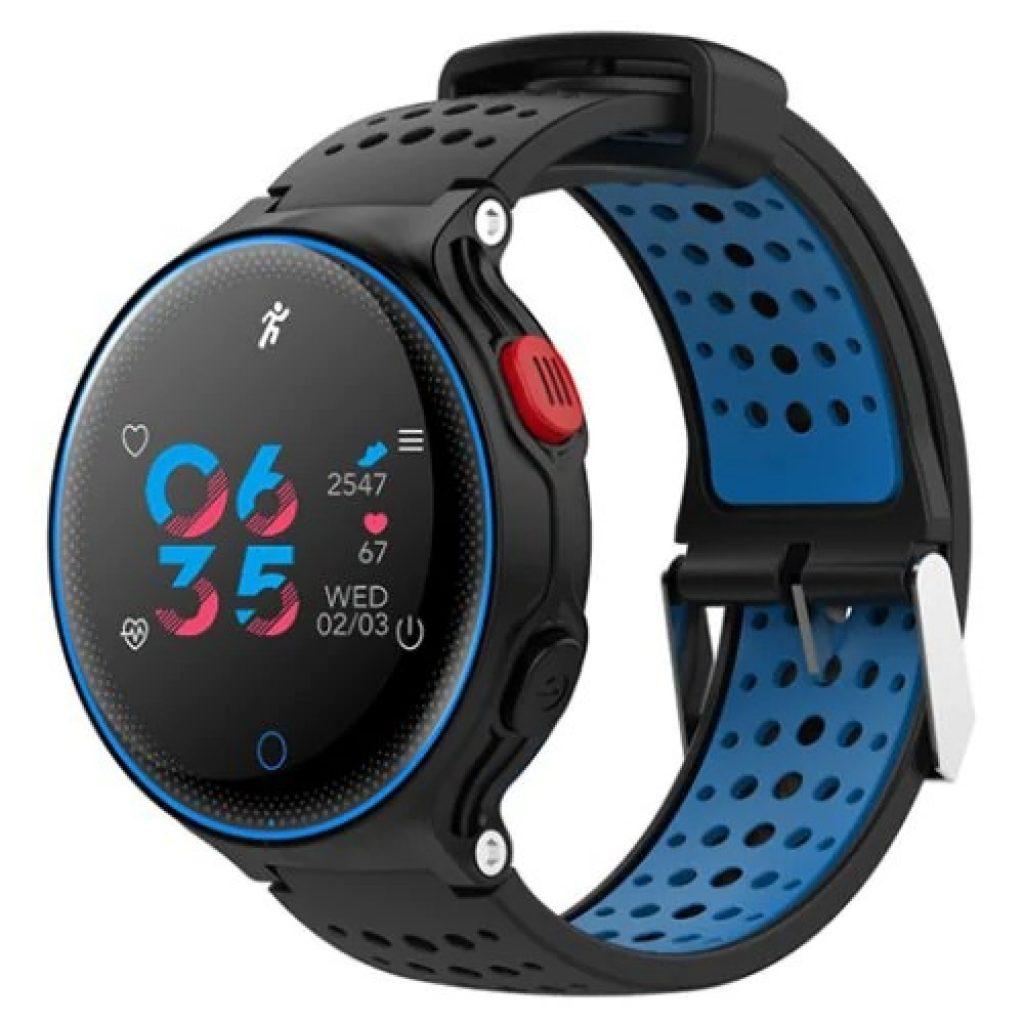 Microwear X2 Plus Δυναμική πίεση αίματος IPS O2 8 Αθλητική λειτουργία 480mAh Συναγερμός Smart Watch - Κόκκινο, COUPON, BANGGOOD