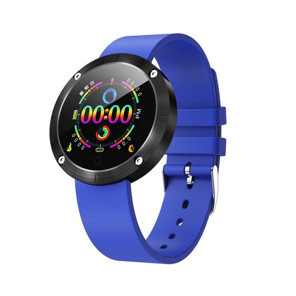 coupon, banggood, OUKITEL W5 Steel Shell Real-time Heart Rate Blood Pressure Call Reminder Sport Mode Long Standby Smart Watch