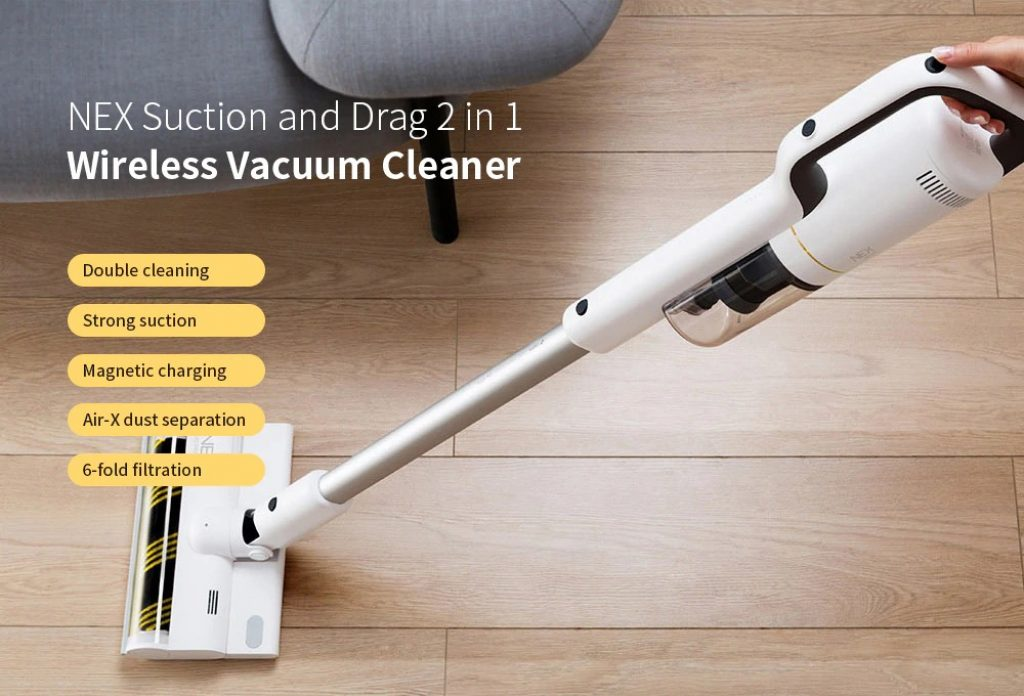 coupon, gearbest, ROIDMI NEX Handheld Wireless Vacuum Cleaner