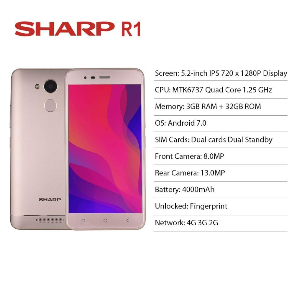 kupon, banggood, Smartphone Sharp R1