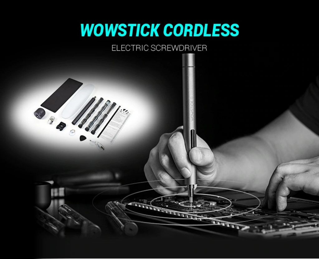 coupon, gearbest, WOWSTICK Precision Screwdriver Kit for Repairing Work
