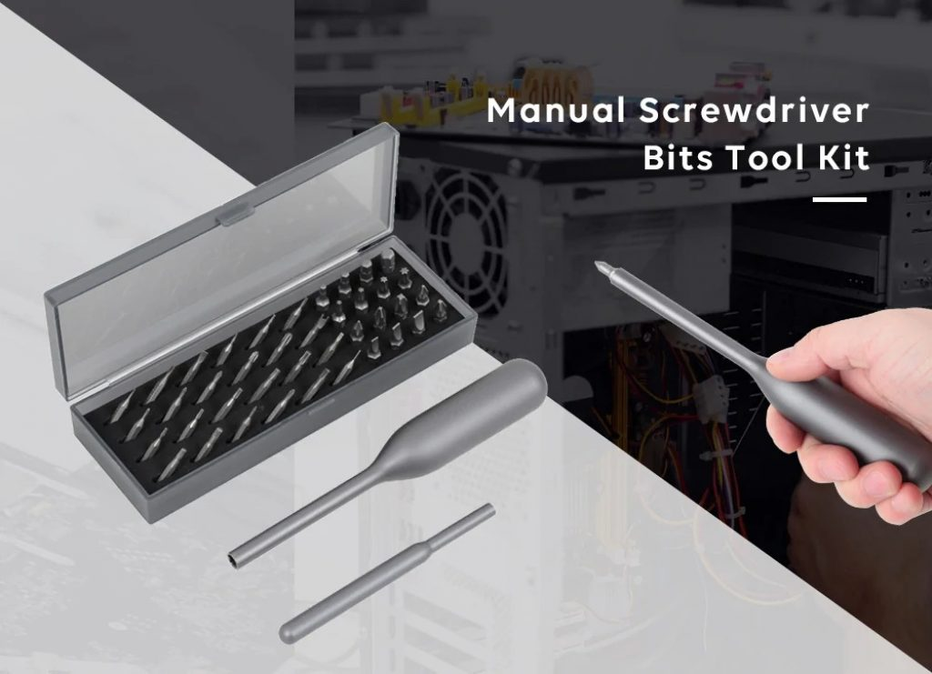 coupon, gearbest, Wowstick Manual Screwdriver Bits Tool Kit for Repairing Phone Toy Laptop