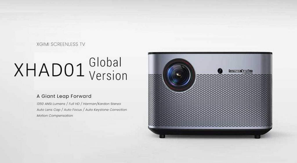 coupon, gearbest, XGIMI XHAD01 DLP 1350 ANSI Lumens Home Theater Projector
