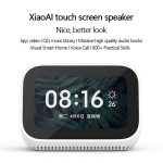 coupon, gearvita, Xiaomi AI Touch Screen Bluetooth 5.0 WiFi Speaker Digital Display Alarm Clock
