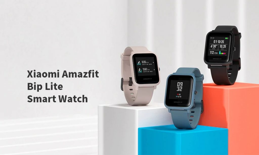 kupón, převodovka, Xiaomi Amazfit Bip Lite Smart Watch