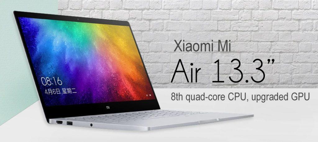 banggood, phiếu giảm giá, gearbest, Máy tính xách tay Xiaomi Mi 2019 13.3 inch
