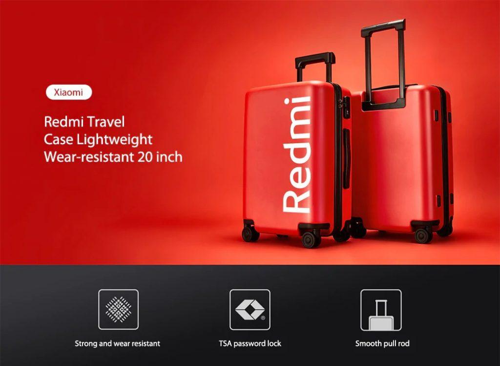 kupón, převodovka, cestovní pouzdro Xiaomi Redmi