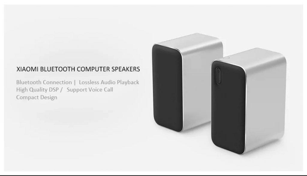 coupon, gearvita, Xiaomi Wireless Bluetooth Computer Speaker 2pcs