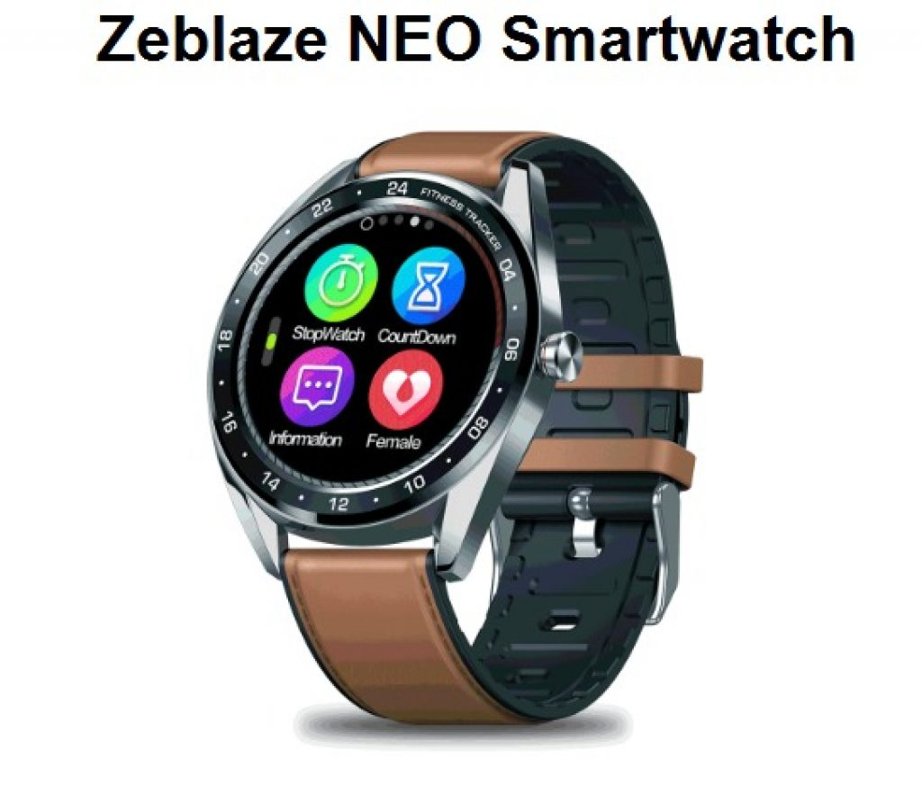 κουπόνι, banggood, Zeblaze NEO Smart Watch