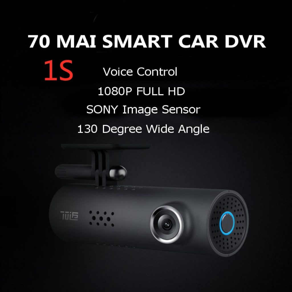 coupon, banggood, 70mai 1S Smart Midrive D06 Car DVR 1080P English Version Voice Control IMX307 Sensor 130 Degree from Xiaomi