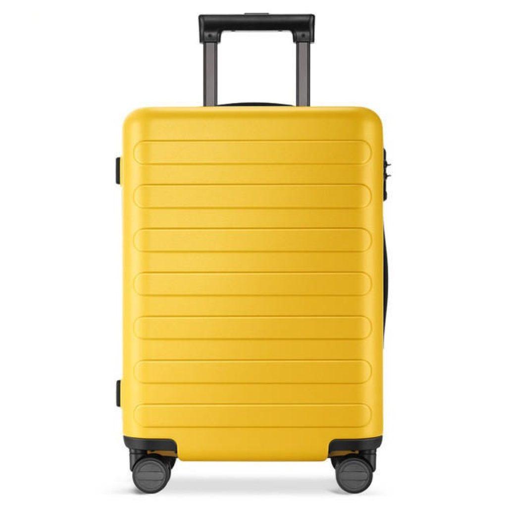 kupón, náramek, 90FUN 20 24 28inch cestovní kufr TSA Lock Spinner Wheel s kufrem na zavazadla od Xiaomi Youpin