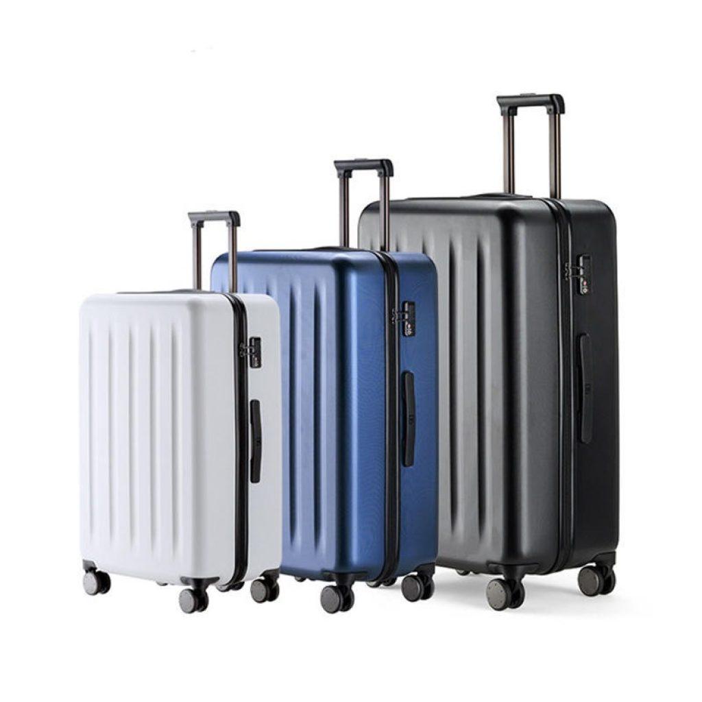 कूपन, धमाकेदार, 90FUN 20inch 24 इंच यात्रा सामान 100% PC सूटकेस स्पिनर व्हील कैरी Xiaomi Youpin से संग्रहण मामले पर