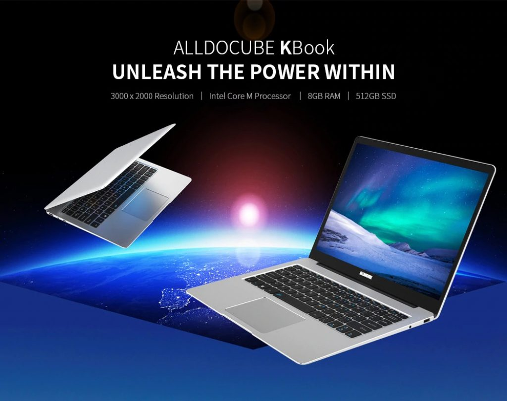 banggood, coupon, gearbest, ALLDOCUBE Kbook 13.5 inch 3K IPS Display Laptop