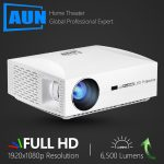 coupon, banggood, AUN F30 Projetor Full HD 1920x1080. Projector LED para Home Theater 5500 Lumens 3D 4K Projector