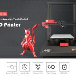 tomtop, kupong, girbest, Anet ET4 Hurtigmontering Touch Control 3D Printer