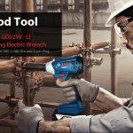 phiếu giảm giá, gearbest, BOSCH GDS250 - Trình điều khiển tác động của cờ lê điện sạc LI