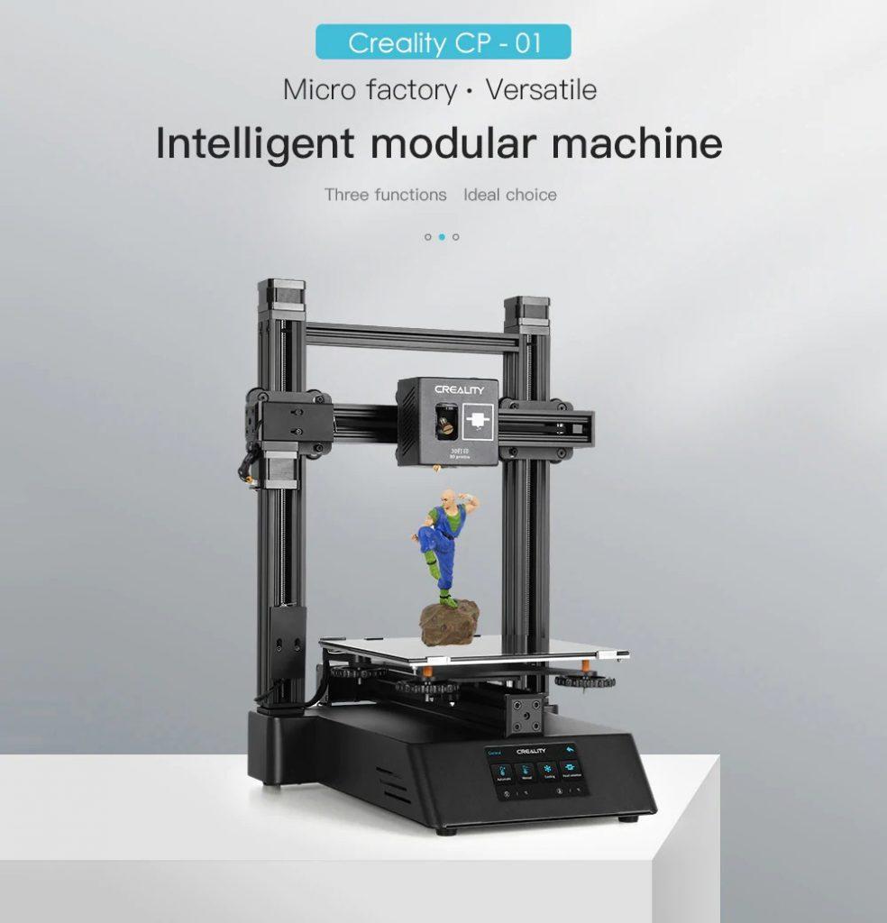 phiếu giảm giá, gearbest, Creality CP - 01 3-in-1 Máy mô-đun thông minh 3D