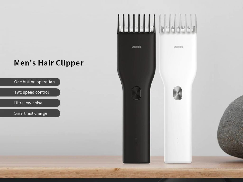 kupon, banggood, ENCHEN USB Hızlı Şarj Elektrikli Saç Kesme Makinesi, Xiaomi youpin