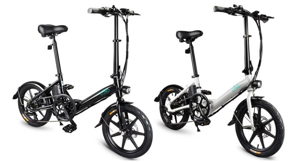 coupon, banggood, FIIDO D3S Shifting Version Folding Moped Bicycle Electric Bike