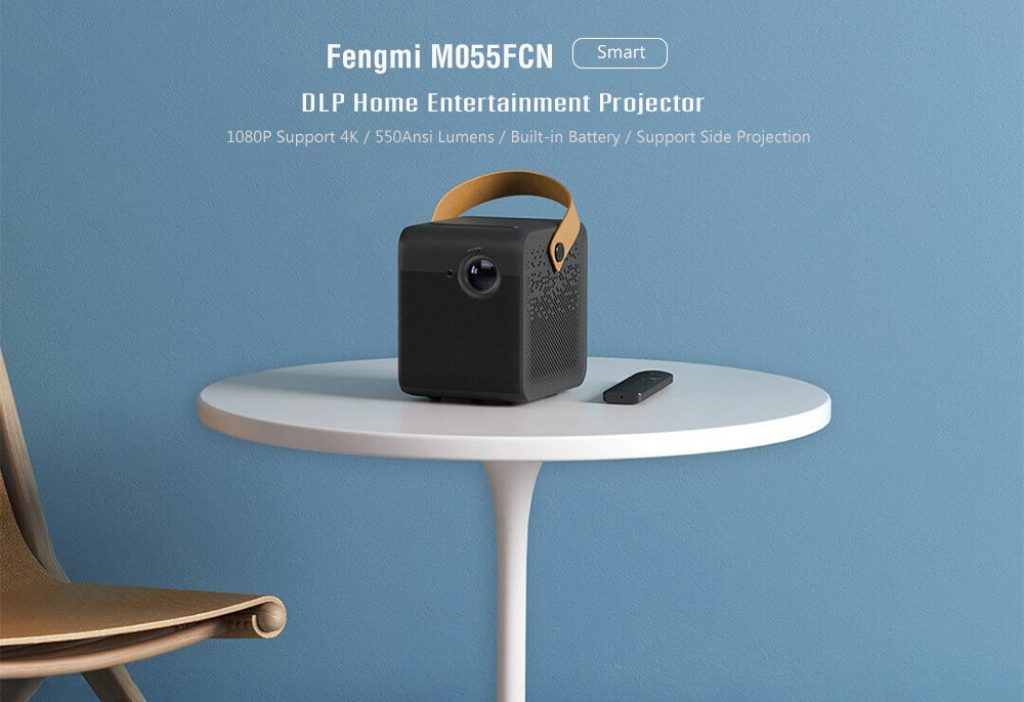 kupon, gearbest, Proyektor Home Entertainment Fengmi M055FCN Smart DLP