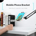 coupon, gearbest, Gocomma Metal Long Arm Mobile Phone Holder Bracket