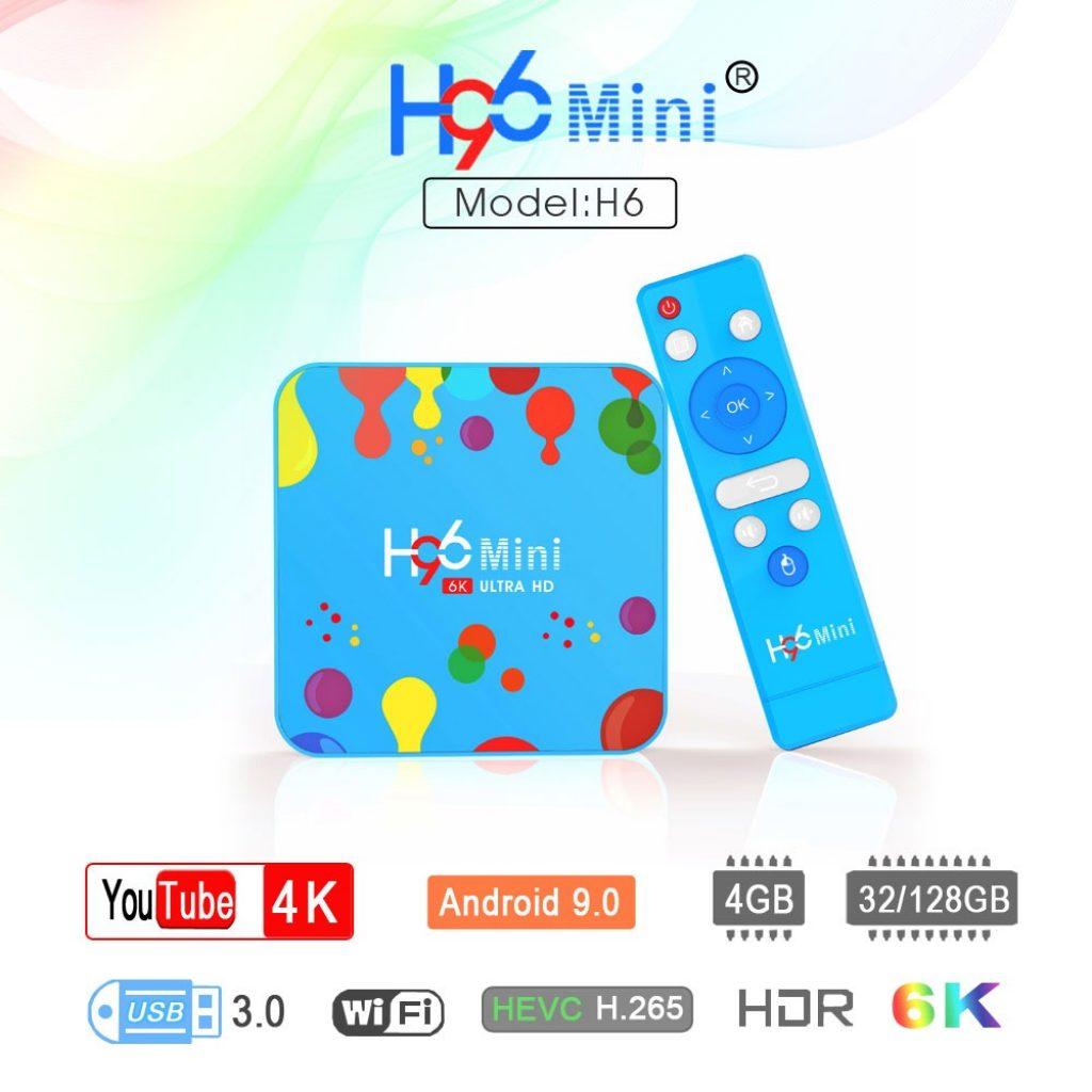 coupon, banggood, H96 Mini H6 Allwinner TV Box