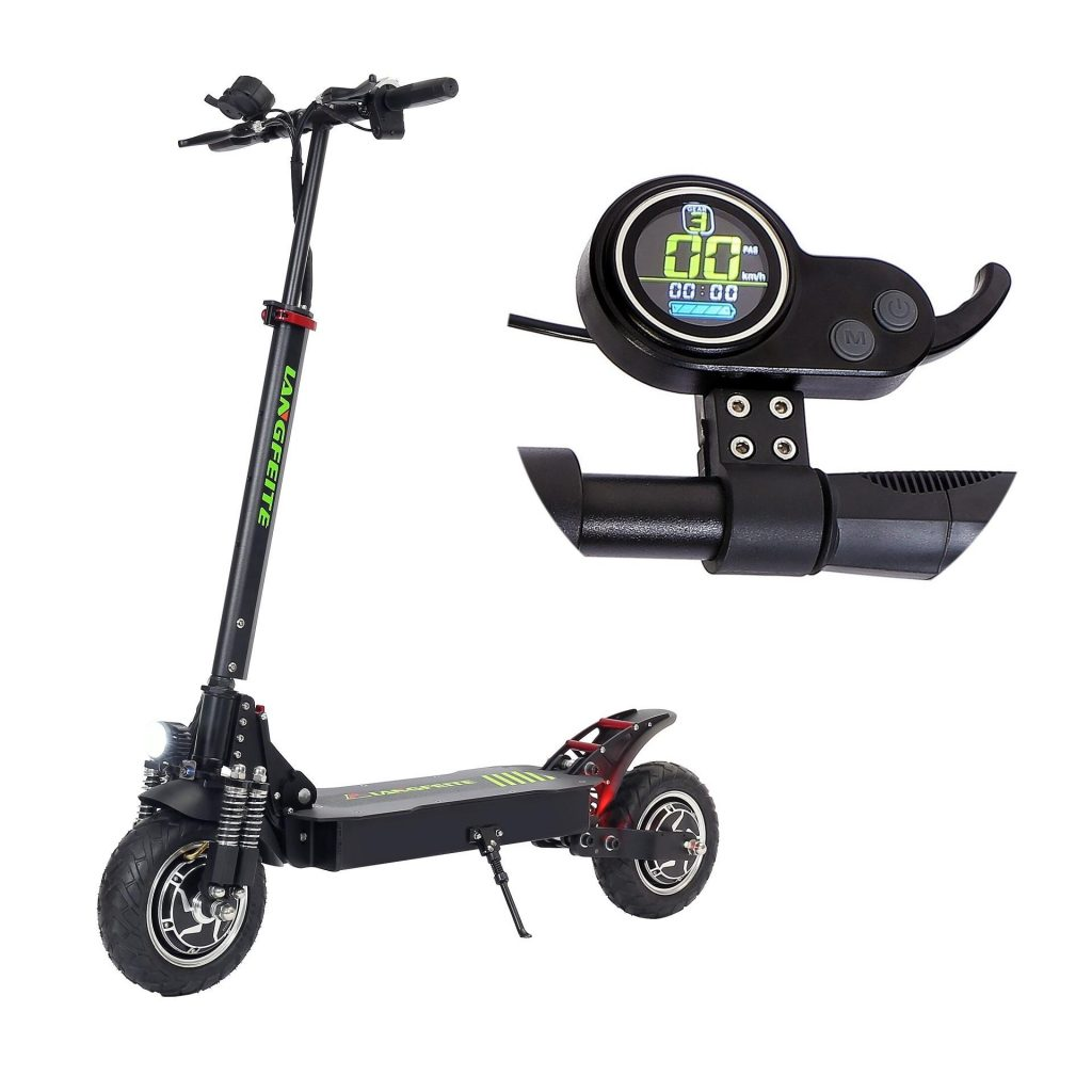 coupon, banggood, LANGFEITE L8S 2019 Version Electric Scooter