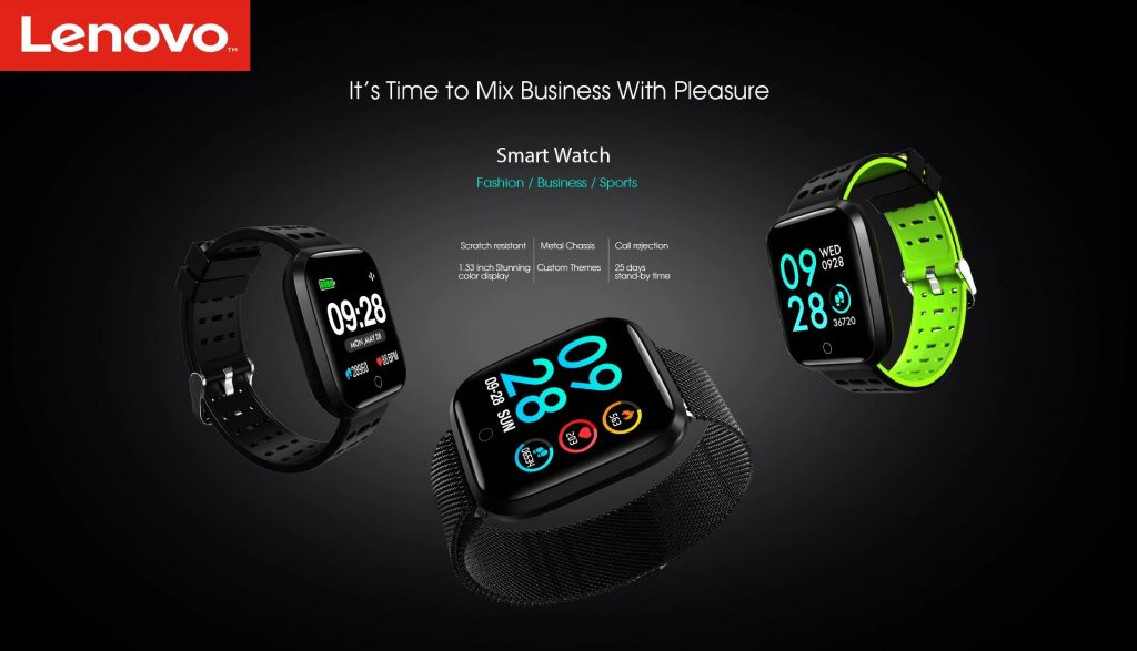 coupon, cambio, Lenovo E1 Smart Watch