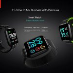coupon, gearbest, Lenovo E1 Smart Watch