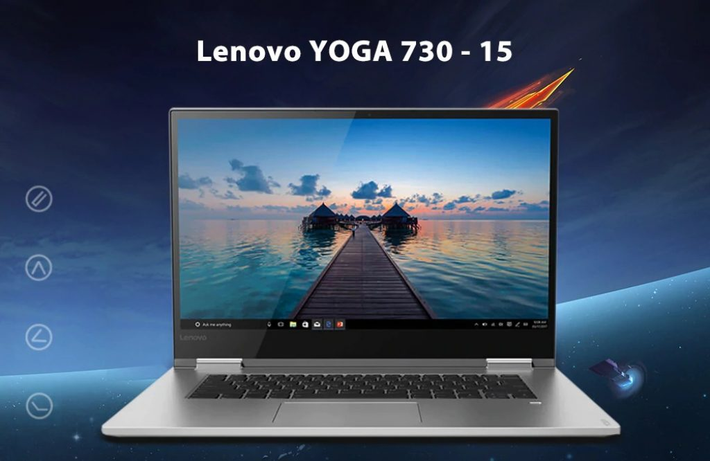 coupon, gearbest, Lenovo YOGA 730 - laptop 15 15.6 pollici