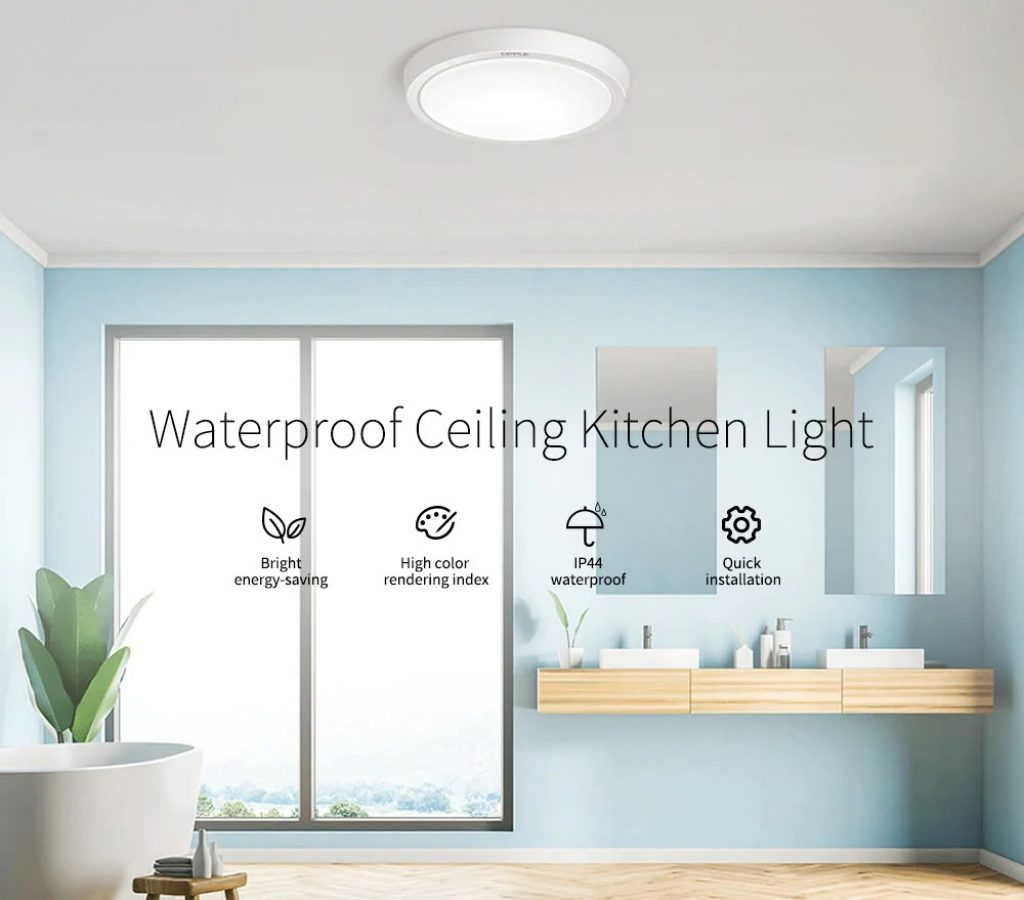 coupon, gearbest, Lighting Waterproof LED Ceiling Light from Xiaomi youpin