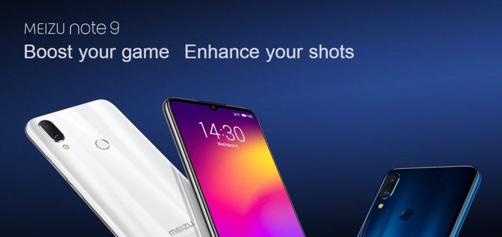 kupon, banggood, Meizu Not 9 6.2 inç Küresel ROM 48MP Çift Arka Kamera 4GB 64GB Snapdragon 675 Sekiz Çekirdekli 4G Akıllı Telefon