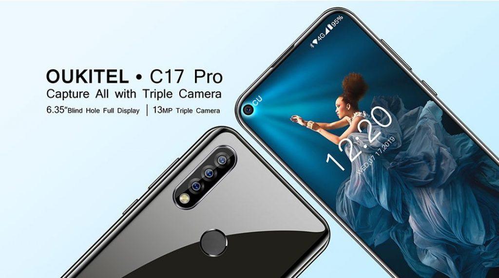 kupon ,, gearvita, OUKITEL C17 Pro 4G Smartphone