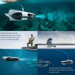 coupon, banggood, PowerVision PowerRay Underwater Drone Fishing Camera 1080p Wizard With 4K UHD Boating Rc Submarine