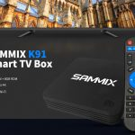 coupon, gearbest, SAMMIX K91 Smart TV Box