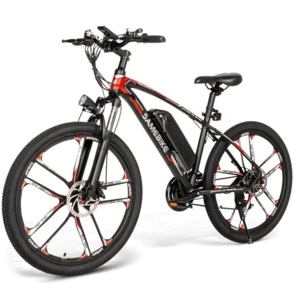coupon, gearbest, Samebike MY - SM26 26 inch Mountain Electric Bicycle