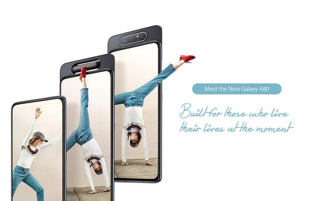 कूपन, गियरबेस्ट, सैमसंग गैलेक्सी A80 4G Phablet स्मार्टफोन