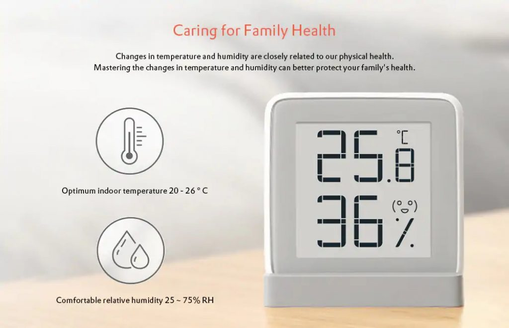 coupon, gearbest, Thermometer and Hygrometer from Xiaomi youpin
