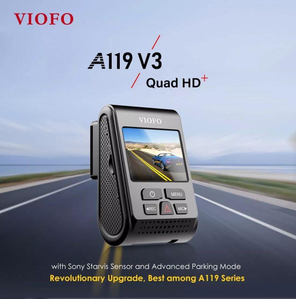 कूपन, धमाकेदार, VIOFO A119 V3 2019 नवीनतम संस्करण कार डैश कैम