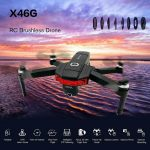 coupon, gearbest, X46G GPS 5G WiFi FPV with 4K Dual Cameras Brushless RC Drone
