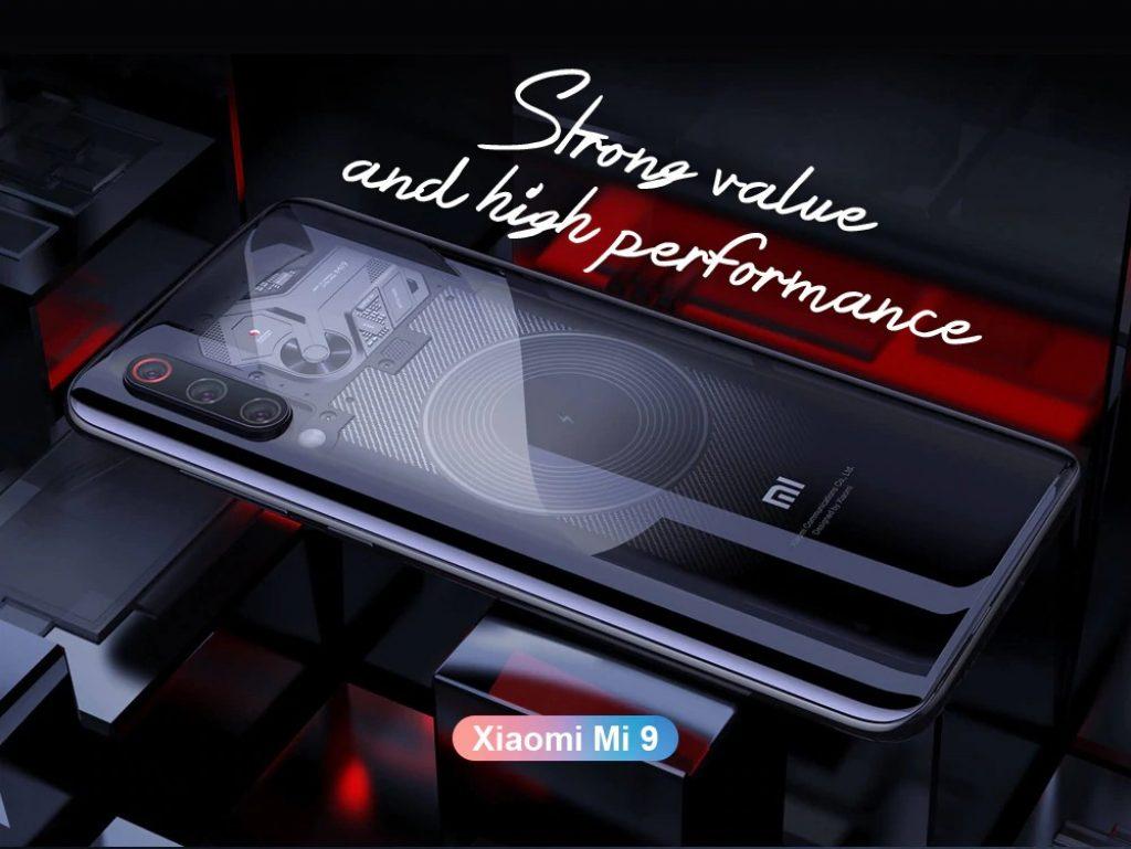 coupon, gearbest, Xiaomi Mi 9 4G Phablet Smartphone