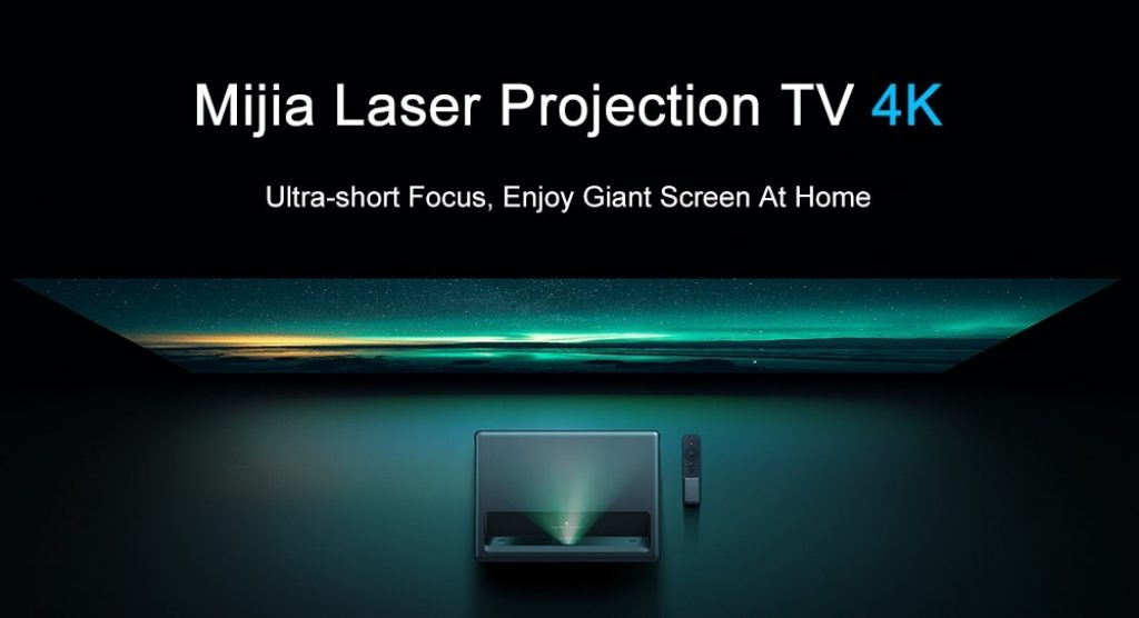 קופון, gearbest, מקרן לייזר Xiaomi Mijia TV 4K