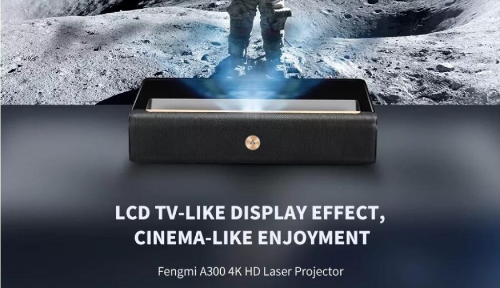 coupon, banggood, Xiaomi WEMAX A300 4K ALPD Ultra Short Throw Laser Projector