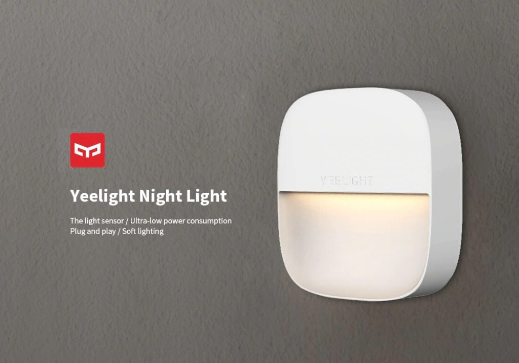 coupon, gearbest, Yeelight Square Night Light ( Xiaomi Ecosystem Product )