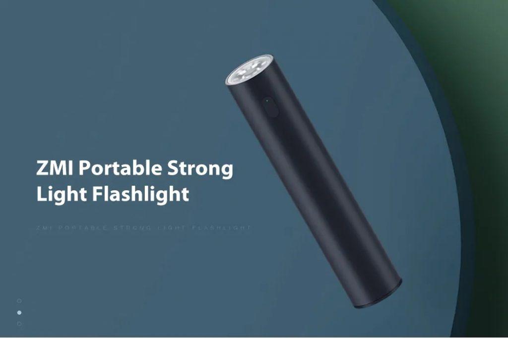 coupon, gearbest, ZMI Portable Strong Light Flashlight ( Xiaomi Ecosystem Product )