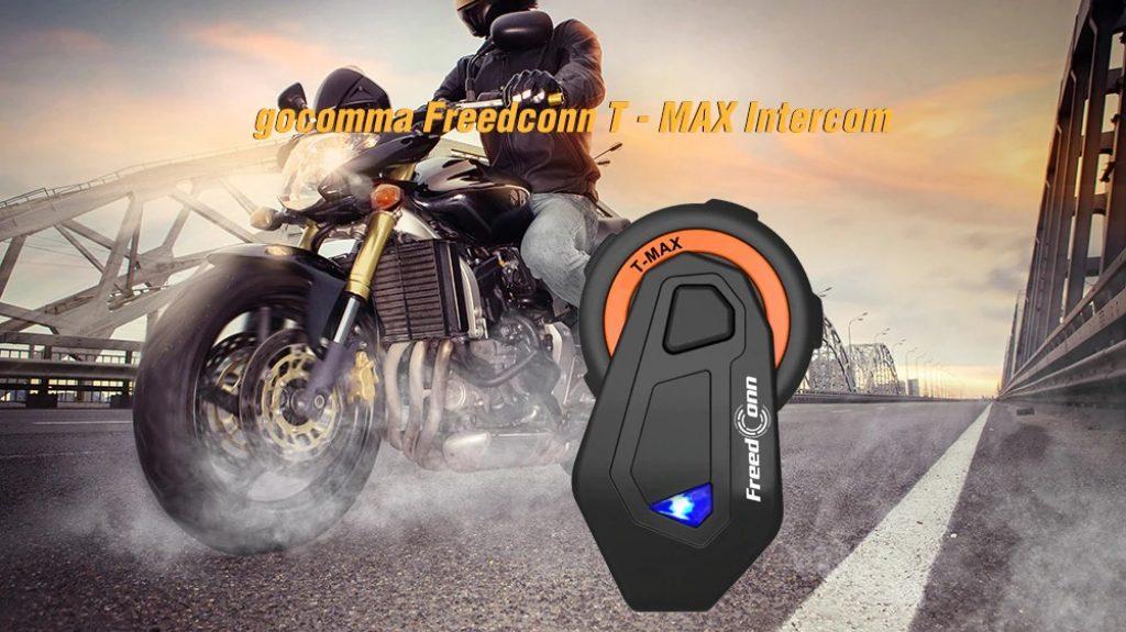 κουπόνι, gearbest, gocomma Freedconn T - MAX Μοτοσικλέτα Bluetooth ενδοσυνεννόηση