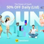 coupon, gearbest, the power of youth gearbest