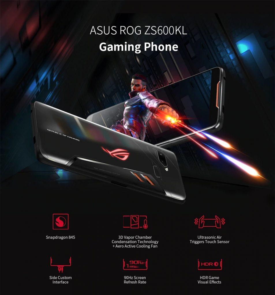쿠폰, Banggood, ASUS ROG ZS600KL 게임용 전화 4G Phablet