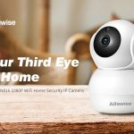 kupong, gearbest, Alfawise N816 AI Humanoid Detection 1080P WiFi IP Camera Smart Home Security with H.265 Video Encoding