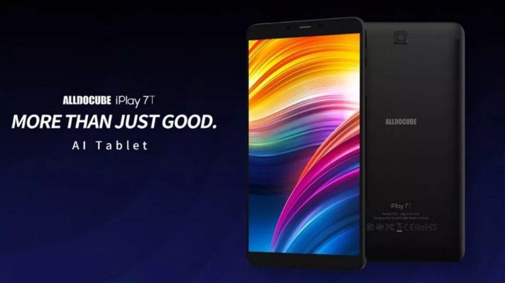 kupón, náramek, alldocube iPlay 7T 16GB UNISOC SC9832E Quad Core 6.98 Inch Android 9.0 Duální 4G Tablet